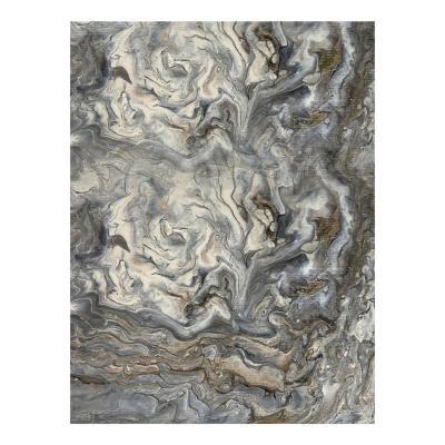 Poszter, absztrakt, keret nélkül, 30x40 cm, szürke - ADAMANTIN